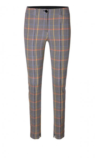 Marc Cain Collection Hose mit Glencheckmuster