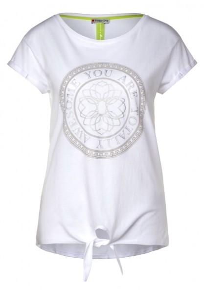 Street One T Shirt mit Frontprint