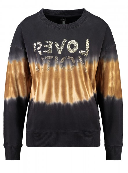 Key Largo Sweater REVOLUTION mit Batik-Muster