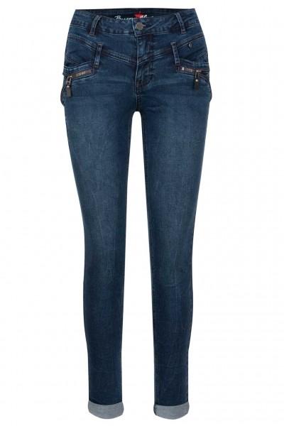 Buena Vista Jeans Florida-Z Stretch Denim Stone