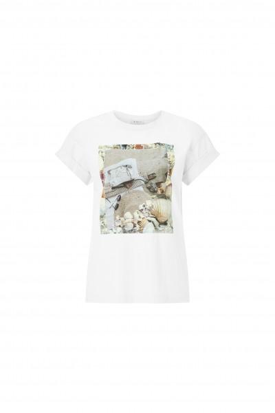 Rich & Royal T-Shirt mit sommerlichem Foto-Druck