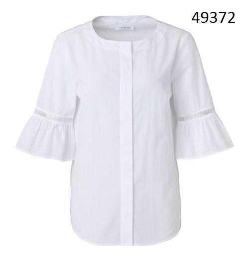 Just White Blusen 49372