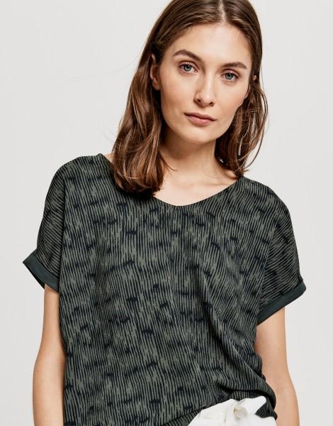 Opus Shirt Suminchen Ethno mit abstrakter Struktur