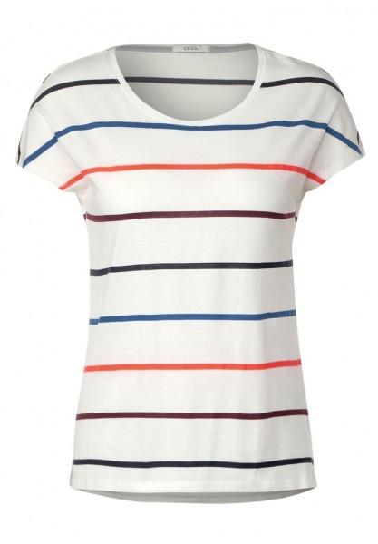 Cecil T-Shirt mit bunten Streifen