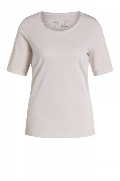 Oui T-Shirt mit Rundhals-Ausschnitt