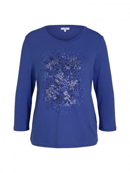Tom Tailor T-Shirt mit abstraktem Punkte-Print