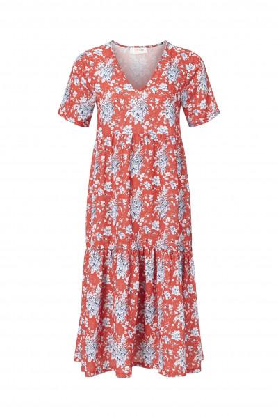 Rich & Royal Sommerkleid mit frischem Blumen-Print