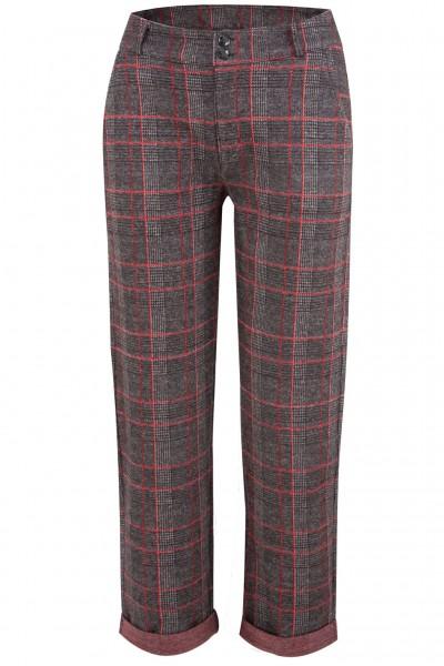 Mavi Hose Check Pants mit Glencheck