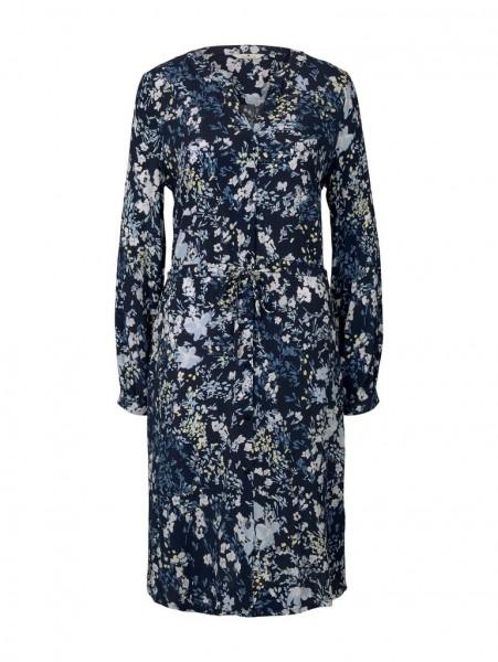 Tom Tailor Kleid mit verspieltem Blumen-Muster