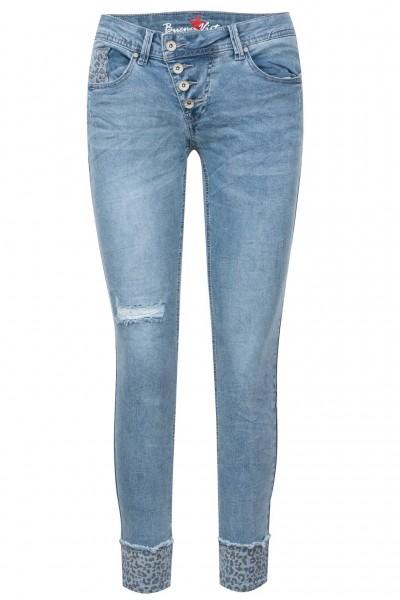 Buena Vista Jeans Malibu 7/8 Stretch Denim Leo