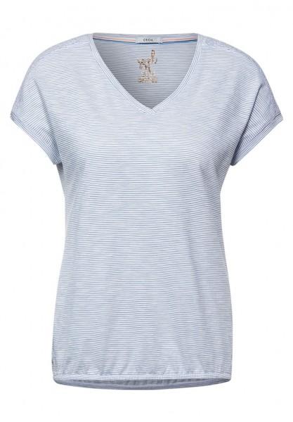 Cecil T-Shirt mit Smok Details