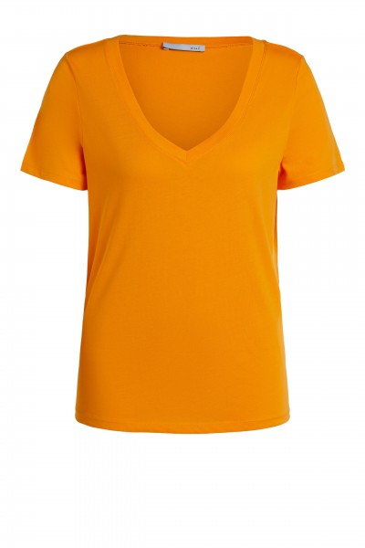 Oui T-Shirt mit V-Neck