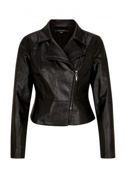 Comma Fake-Leather-Jacket
