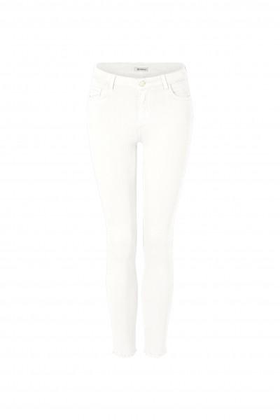 Rich & Royal Jeans mit ausgefranstem Saum