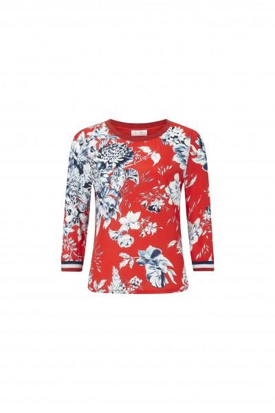 Rich & Royal Bluse mit floralem Muster