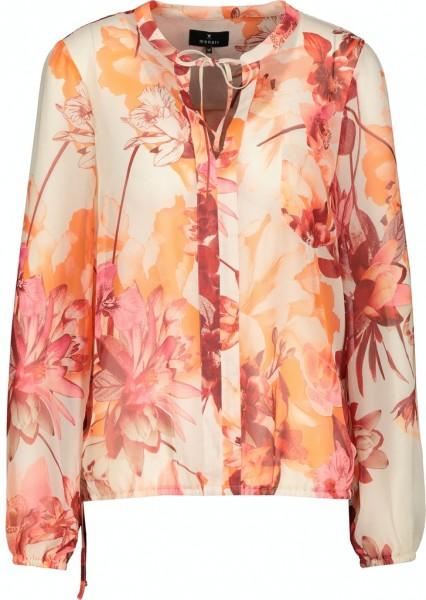 Monari Bluse mit floralem Muster