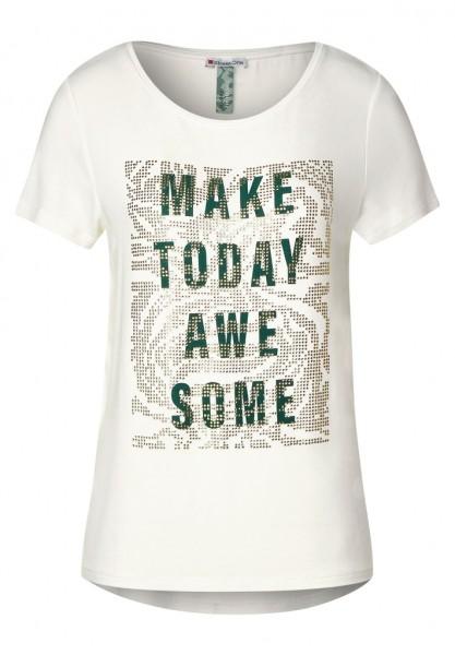 Street One T-Shirt mit Frontprint