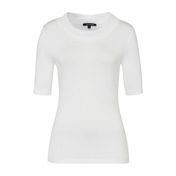 More & More Shirt mit halsfernem Rollkragen