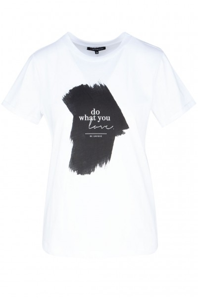"#One more Story T-Shirt mit Wording ""Do what you love"""