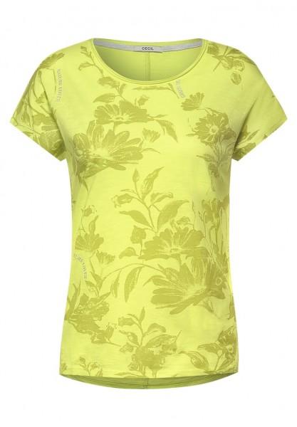 Cecil T-Shirt mit Blumen Print
