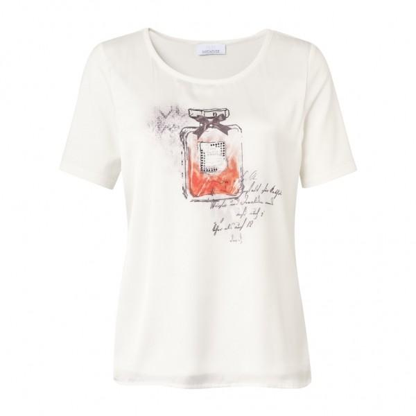 Just White Shirt 1/2 Arm